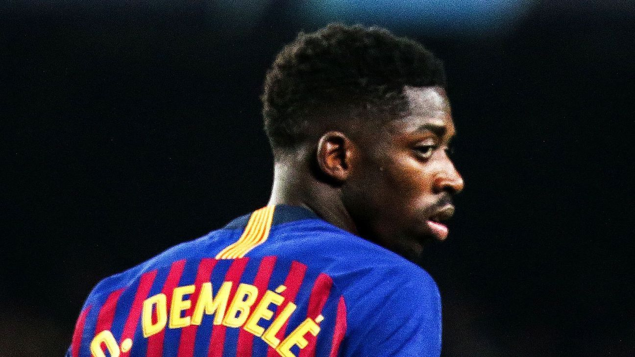 Ousmane Dembele joined Barcelona from Borussia Dortmund in August 2017