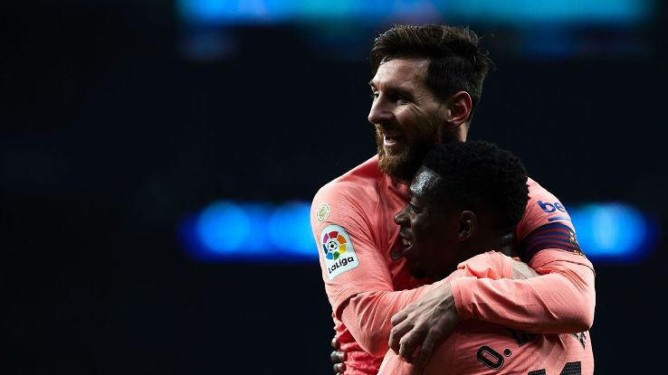 Dembele apologized to his Barca teammates for his training absence and for now at least, things appear to be right on track as he continues to contribute.