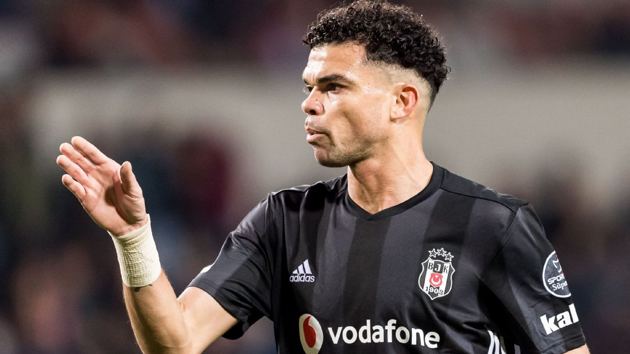 Pepe joined Besiktas as a free agent in 2017 after 10 years at Real Madrid