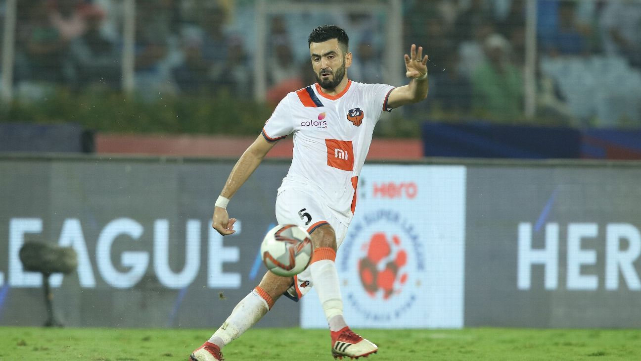 Moroccan Ahmed Jahouh is the heartbeat of Goa's midfield.