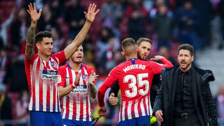 Diego Simeone, right, has made Atletico Madrid into a potent force that thrives most without the ball.