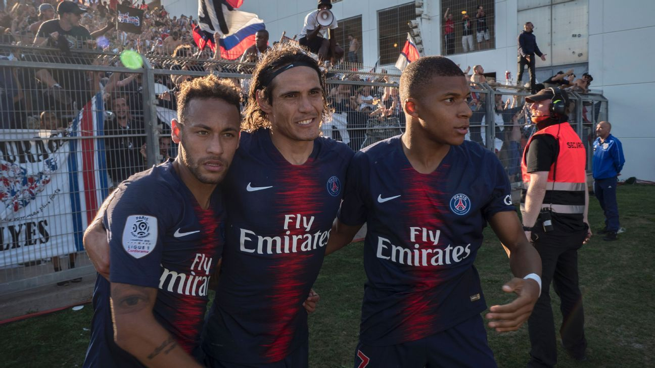 Paris Saint-Germain boast arguably the most potent front three in world football but it's not always perfect between Neymar, Cavani and Mbappe.