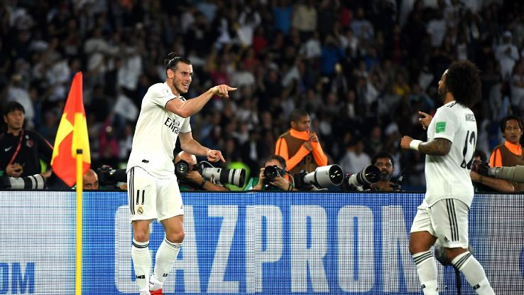 Gareth Bale was a one-man show vs. Kashima Antlers, scoring a hat trick in 11 minutes of game action.