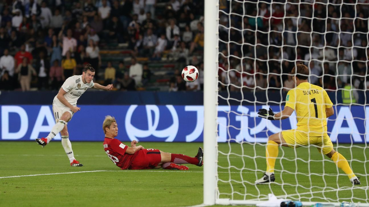 Gareth Bale and Real Madrid cruised into the FIFA Club World Cup final with a 3-1 win over Kashima Antlers.