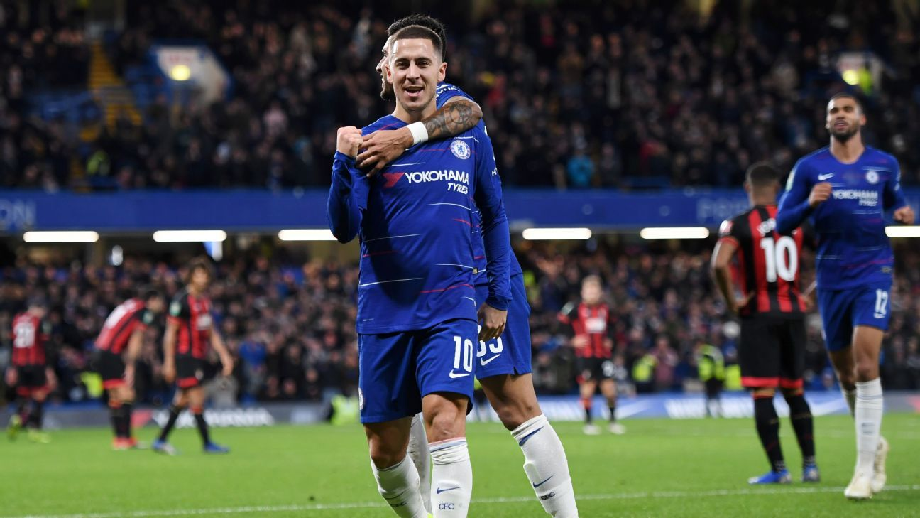 Chelsea probably shouldn't have needed Eden Hazard but he delivered by scoring the winner vs. Bournemouth.