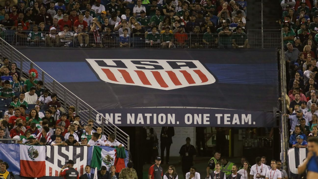 US soccer logo one nation one team