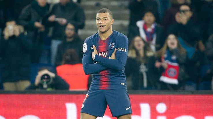 Kylian Mbappe was rather quiet but popped up with the decisive contribution, a 68th-minute winner vs. Nantes.
