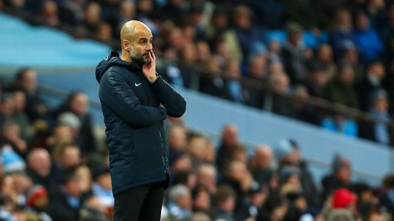 Guardiola and Man City shouldn't have too much cause for concern after losing to Crystal Palace. There's still a lot of season left.