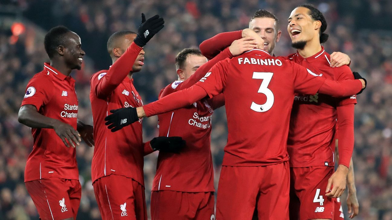 Liverpool keep going from strength to strength in their hunt for a first-ever Premier League title.