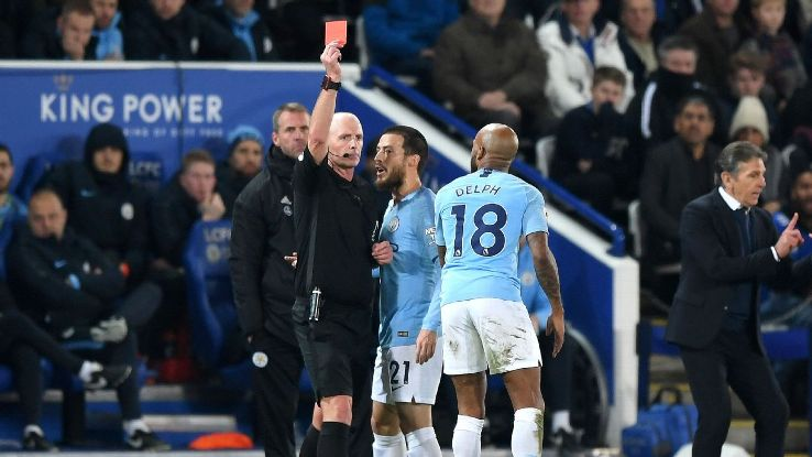 Fabian Delph had an afternoon to forget vs. Leicester, losing his marker on Leicester's equaliser and seeing red for a rash, late challenge.