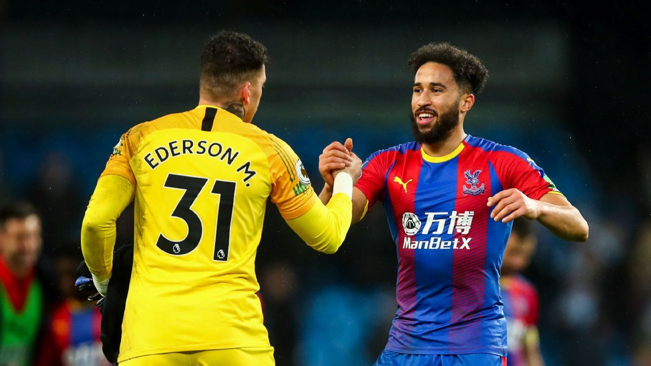 Townsend, right, scored a stunning goal at the Etihad. Better yet, it lifted Crystal Palace to a genuine upset win over Man City.