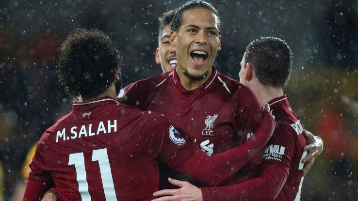 Virgil van Dijk has been tremendous for league leaders Liverpool, adding a solidity at the back that's propelled their brilliant season so far.