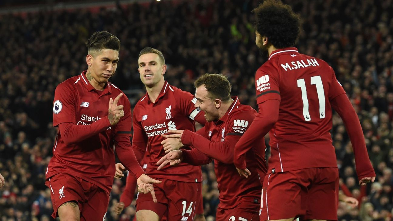 Liverpool trailed early on but led by Roberto Firmino turned it around quickly in a dominant 5-1 win over Arsenal.
