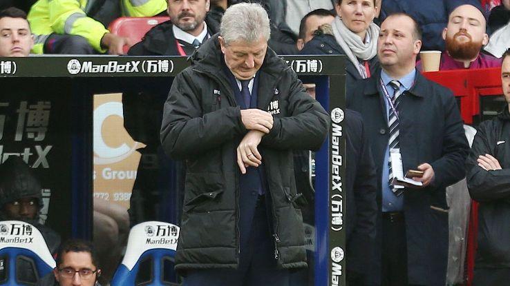 Roy Hodgson has once-bottom Crystal Palace trending toward safety.