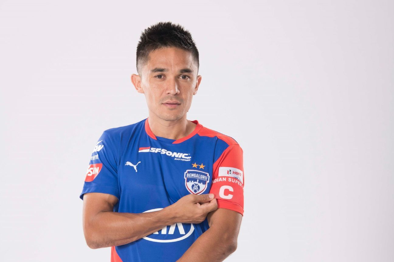 The longest stint of Chhetri's 18-year career has been at Bengaluru FC.