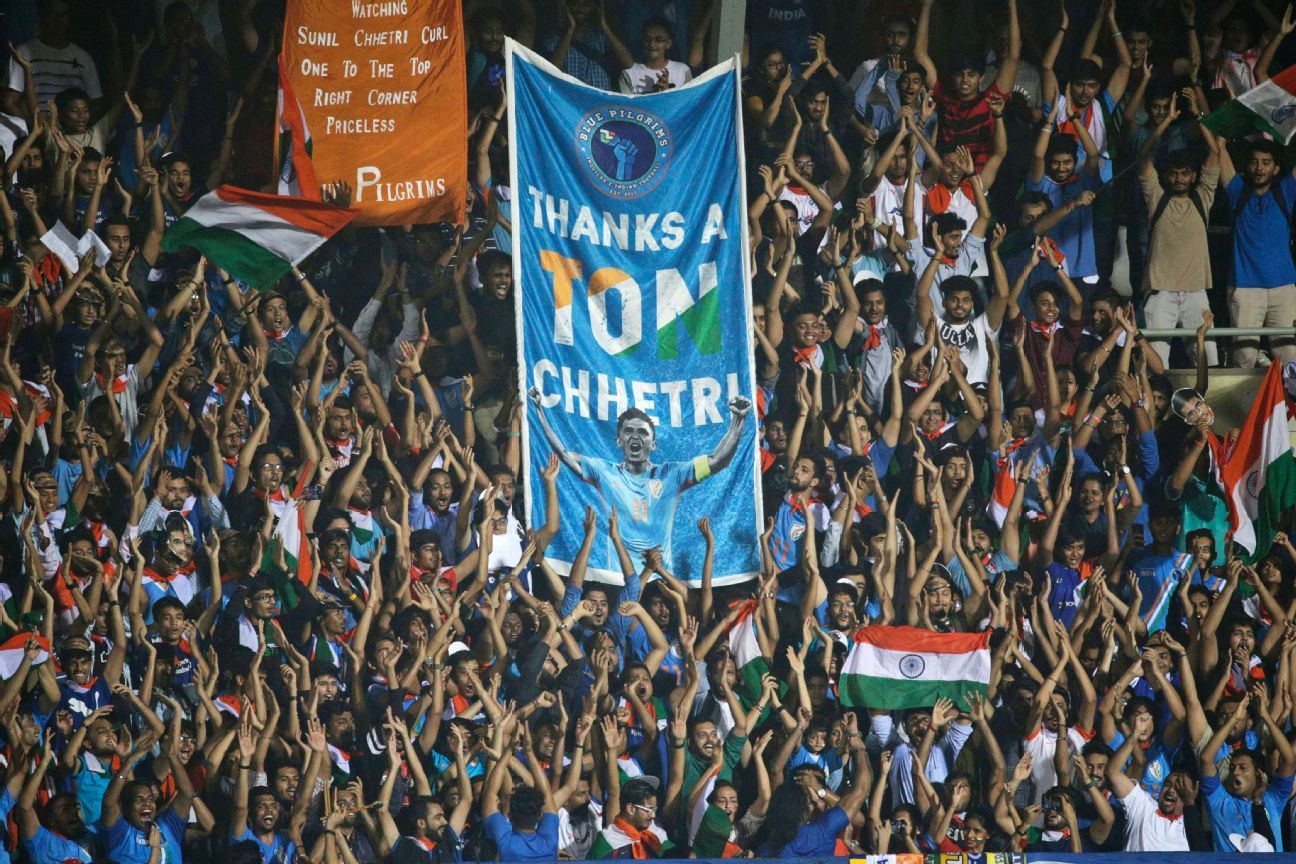 Tickets to the India vs Kenya match at the Intercontinental Cup in Mumbai last year were sold out after Chhetri's appeal to fans to support Indian football.