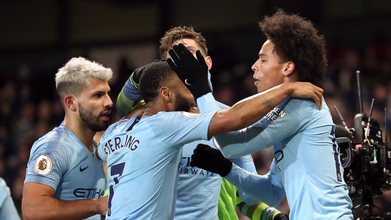 Man City needed a win to pull within striking distance of Liverpool and while it wasn't always pretty they got it Thursday at the Etihad.
