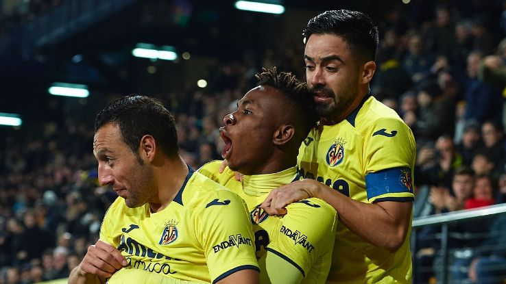Cazorla, left, scored both goals as Villarreal opened 2019 with a hard-fought draw vs. Real Madrid that got them out of the relegation zone.