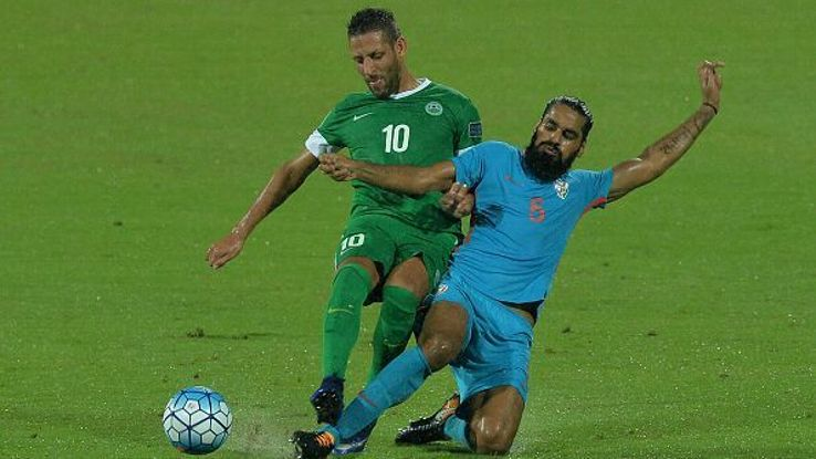 Sandesh Jhingan is India's first-choice centre back