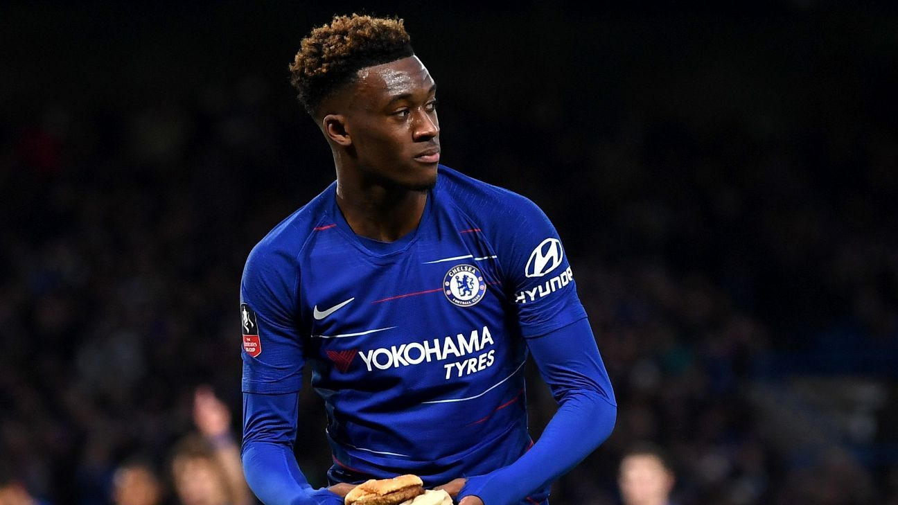 Hudson-Odoi was a force down the flank, setting up both goals for Morata in Saturday's victory.