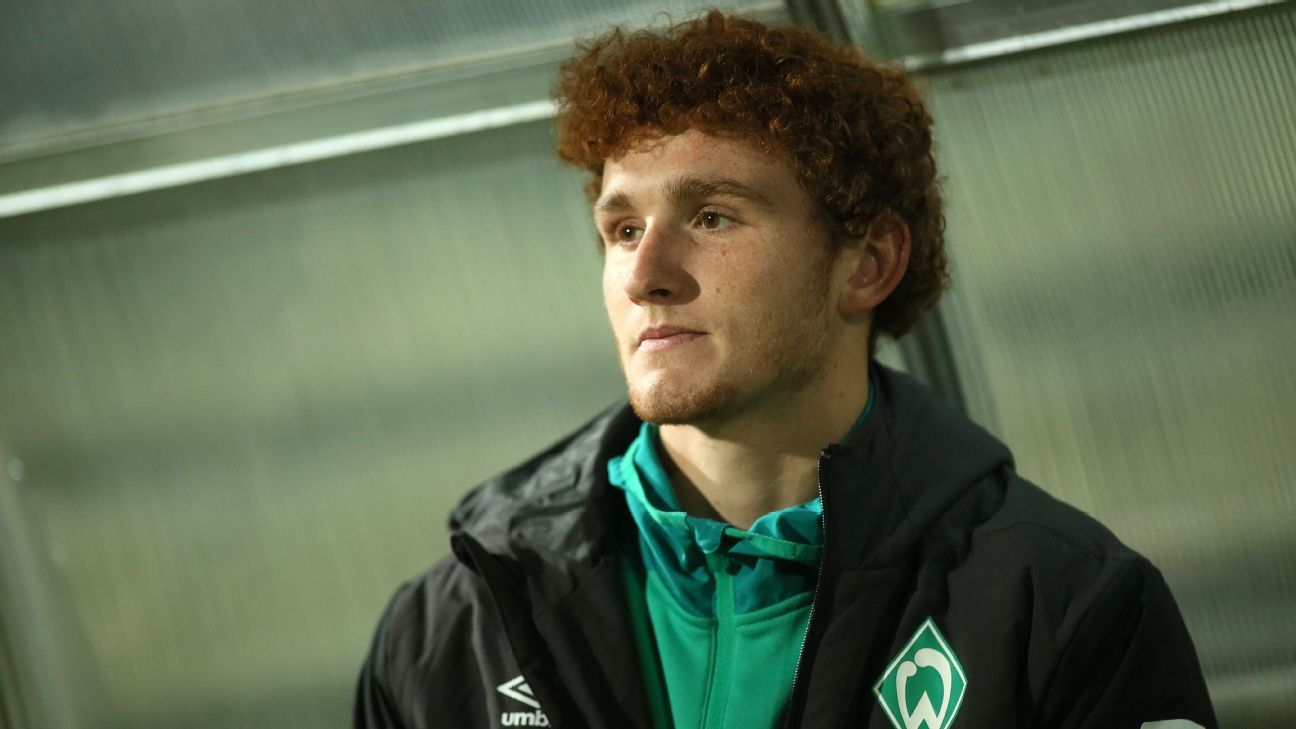 Werder Bremen forward Josh Sargent is looking for more first team opportunities in 2019.