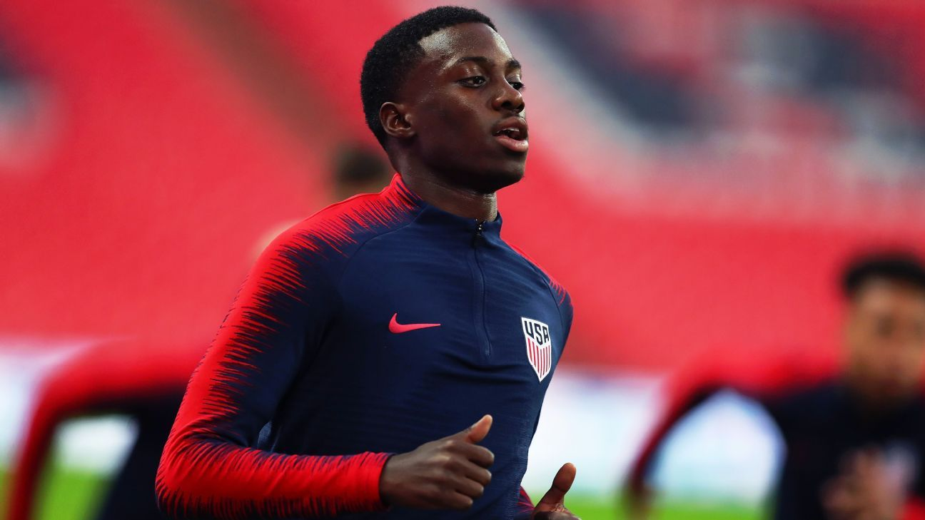USA forward Timothy Weah expected to join Celtic from PSG on loan until the end of the season.