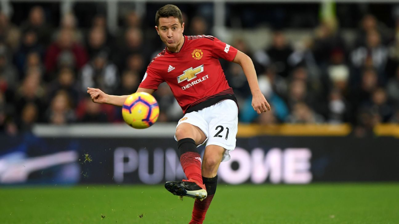 Manchester United midfielder Ander Herrera is a transfer target for former club Athletic Bilbao