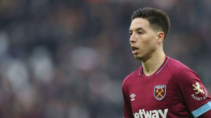 Samir Nasri is likely to make his first Premier League appearance since Aug. 2016 against Arsenal on Saturday.