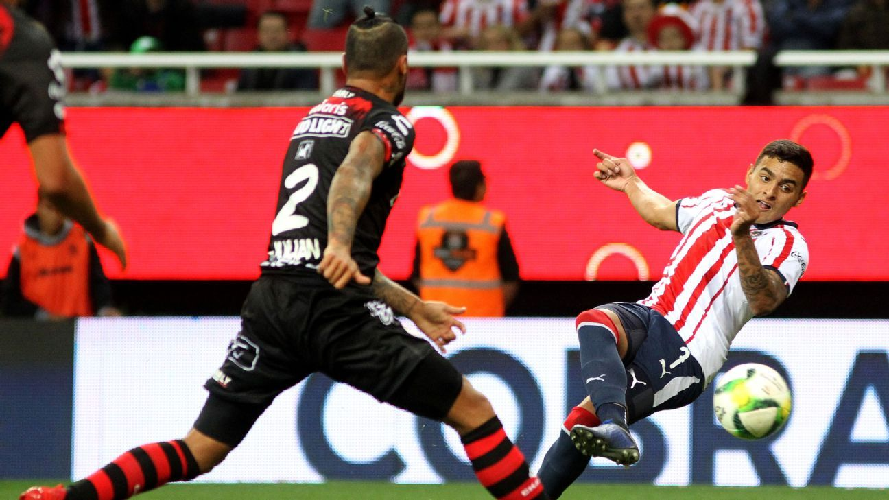 Chivas' Alexis Vega, 21, looks to be next in line for Mexico at striker, a position that the national team is desperate for depth in.