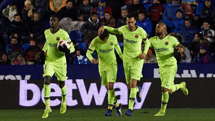 Barca pulled a late goal back to give them a chance in the second leg. Yet they might end up playing, and tiring, several key players in order to overcome the deficit. Not the smartest move.