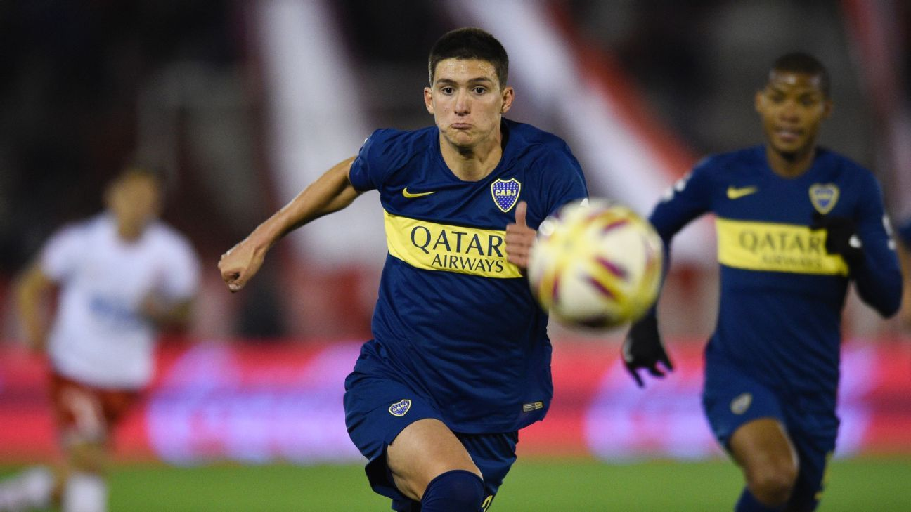 Leonardo Balerdi of Boca Juniors is set for a move to Borussia Dortmund pending a medical.