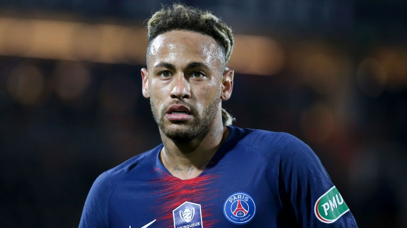 Neymar joined Paris Saint-Germain from Barcelona for a world record €222 million deal in 2017