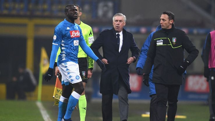 Ancelotti and Napoli will be right to walk off the pitch if there is more racial abuse in the future. It's an easy decision, too.