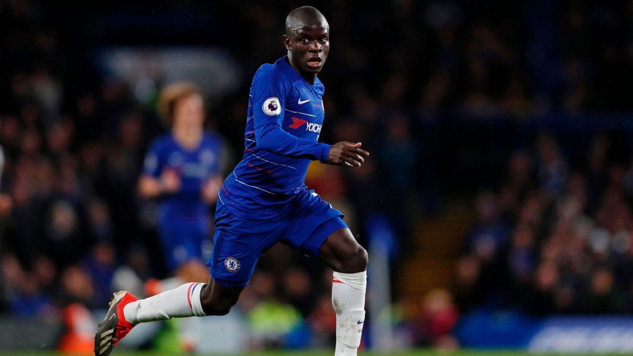 N'Golo Kante didn't score a goal or provide an assist but the energetic and disruptive midfielder was Chelsea's best again vs. Newcastle.
