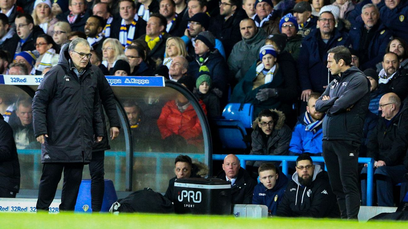 Marcelo Bielsa and Frank Lampard