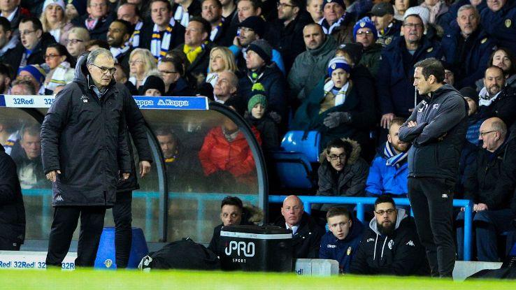 Marcelo Bielsa and Frank Lampard