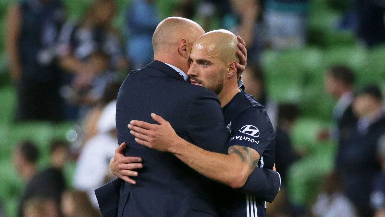 Kevin Muscat and James Troisi