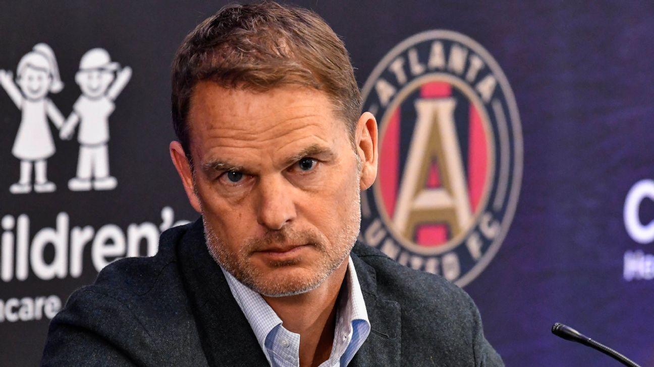 Atlanta United better organized than Inter Milan, Crystal Palace - Frank de Boer