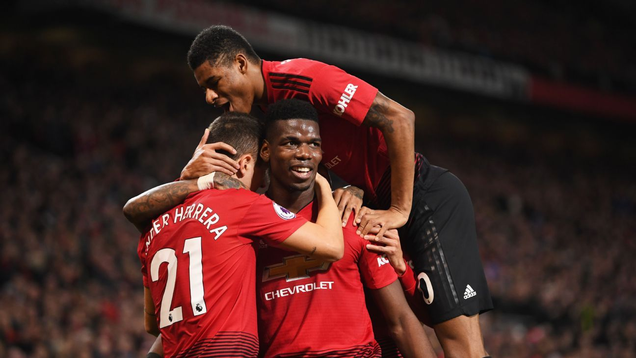 Man United have won three of three under Ole Gunnar Solskjaer, winning by an aggregate score of 12-3.