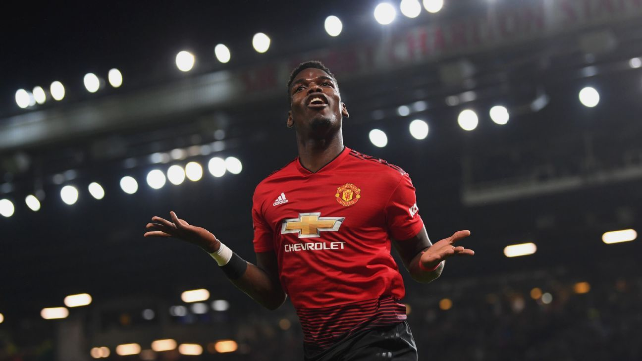 Paul Pogba has been a new man since Jose Mourinho was fired, having scored four goals and added three assists in three games.
