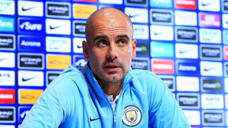 Guardiola and Man City aren't out of the title race yet, of course, but they need to defeat Liverpool on Thursday if they're to keep hope alive.