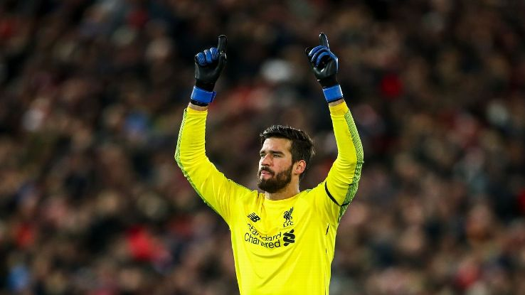 Alisson, who has 12 clean sheets in the Premier League since arriving in the summer, is another example of the Reds' persistence and care in the transfer market.