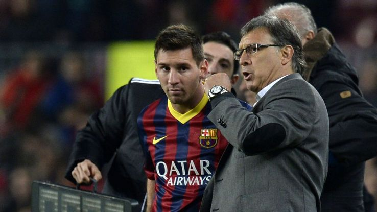 Tata Martino's experience coaching some of world's top players, like fellow Rosario native Lionel Messi, should only benefit him with Mexico.