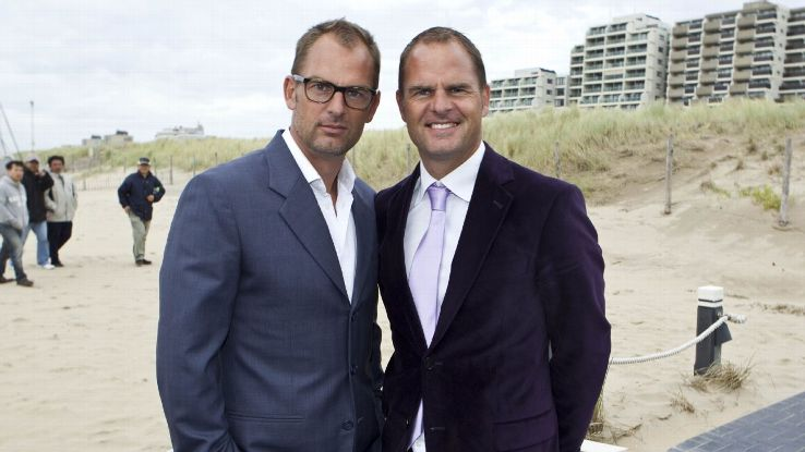 Twins Ronald (left) and Frank de Boer are celebrating their 50th birthdays on May 15.