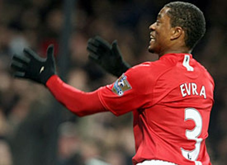 Patrice Evra went on the attack.