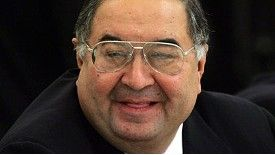 Alisher Usmanov is seen as a rival to Kroenke at Arsenal.