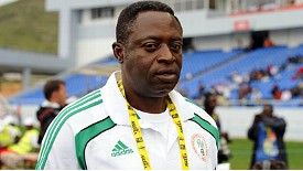 Shaibu Amodu: Guided Nigeria to third at the African Nations Cup