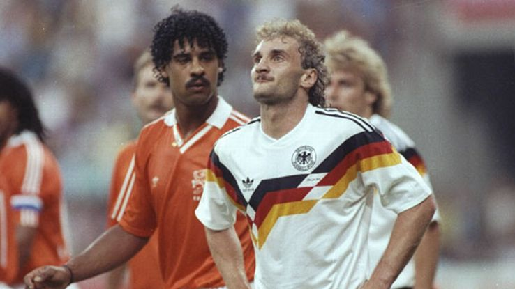 Rijkaard has since apologised for spitting on Voller