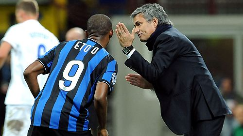 Jose Mourinho will be hoping that Samuel Eto'o can get on the scoresheet against his former club