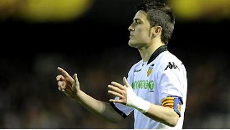 David Villa: Scored over 100 goals for Valencia